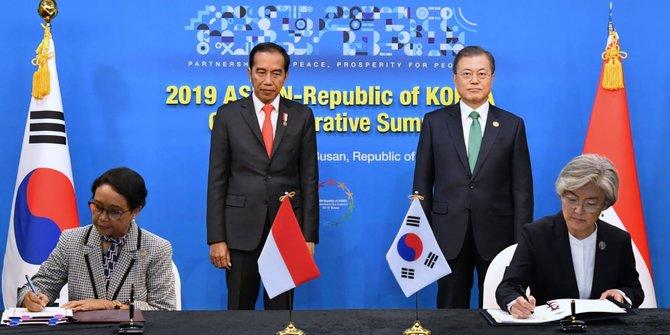 Bertemu Presiden Jokowi, Presiden Korsel Moon Jae-In Tawarkan Kerja Sama Teknik Pemindahan Ibu Kota