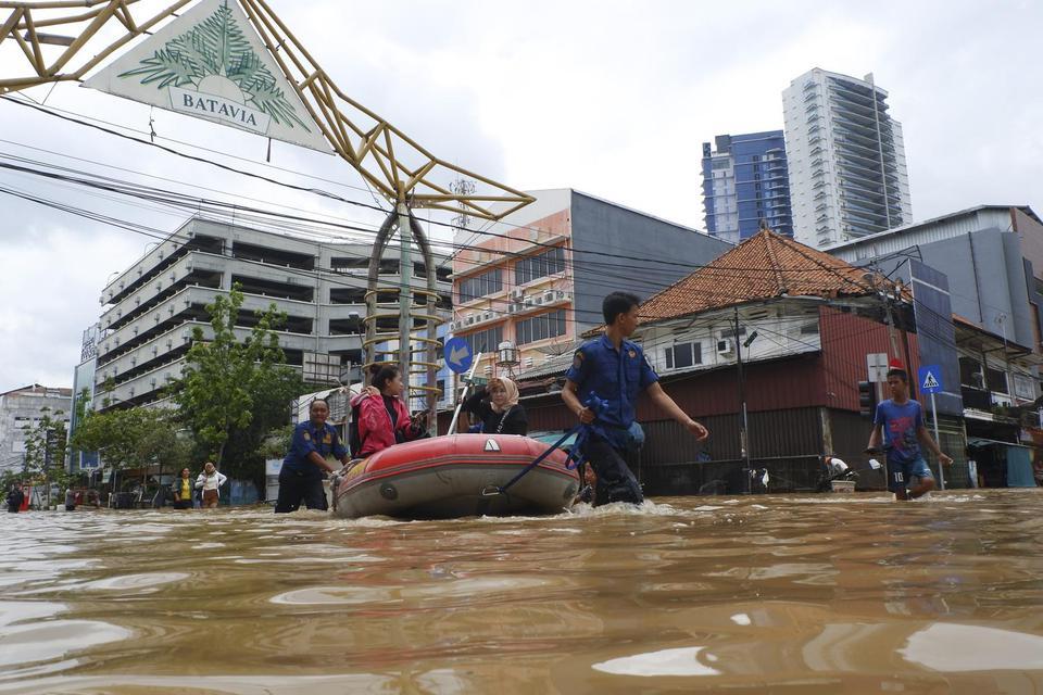 Hippi DKI Jakarta Hitung Kerugian Akibat Banjir Tahun Baru 2020 di Ibu Kota Capai Rp1 triliun
