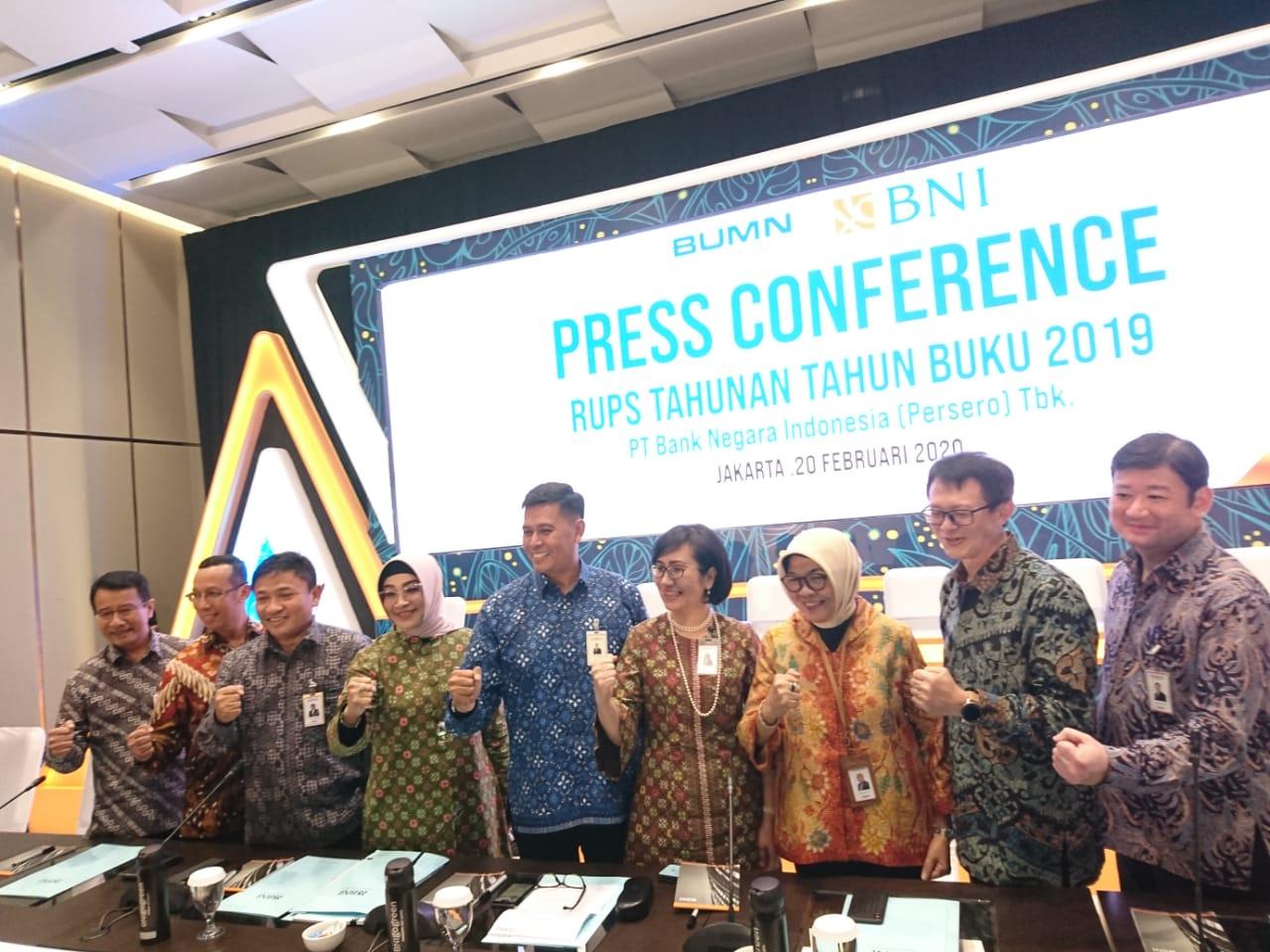 RUPST PT Bank Negara Indonesia Tbk (BBNI) Angkat Agus Martowardojo sebagai Komisaris Utama