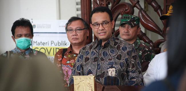 PSBB di DKI Jakarta Disetujui Menkes, Bola Kini di Tangan Gubernur Anies Baswedan