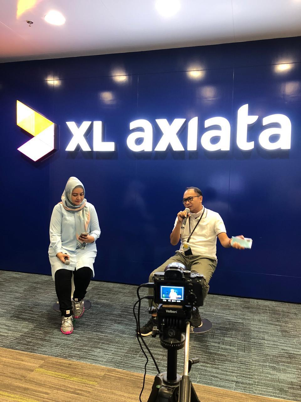 Sepekan Penerapan Kerja dan Belajar dari Rumah Trafik Data XL Axiata Naik 10 Persen