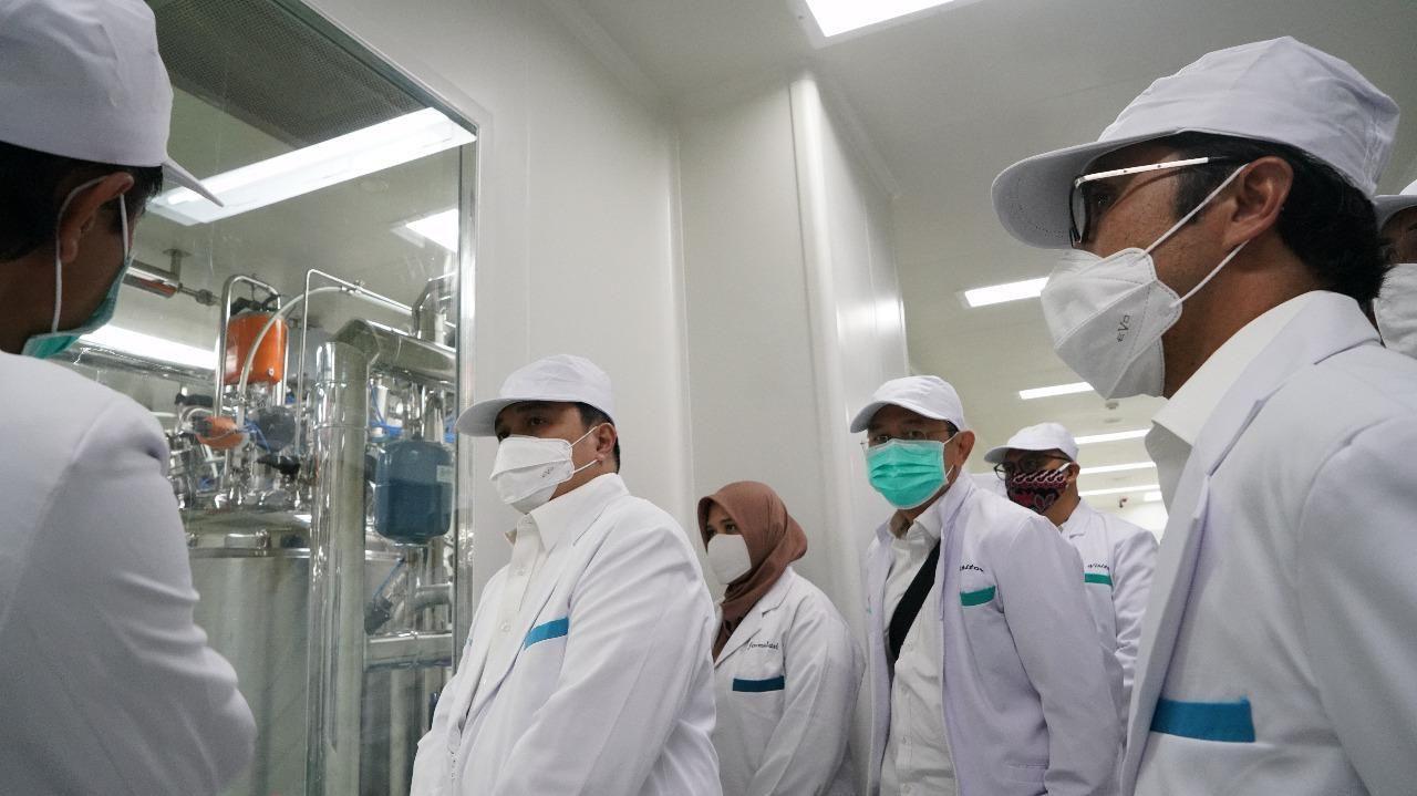 PT Bio Farma Sudah Menjadi Pusat Produksi Vaksin Halal Dunia