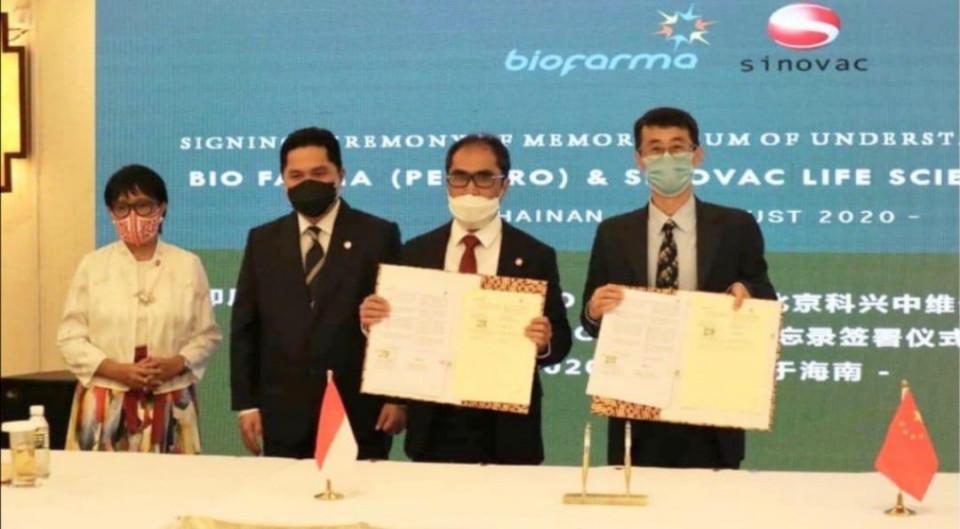 Indonesia Harus Mandiri, Menteri Erick Thohir Pastikan ada Transfer Teknologi dari Sinovac