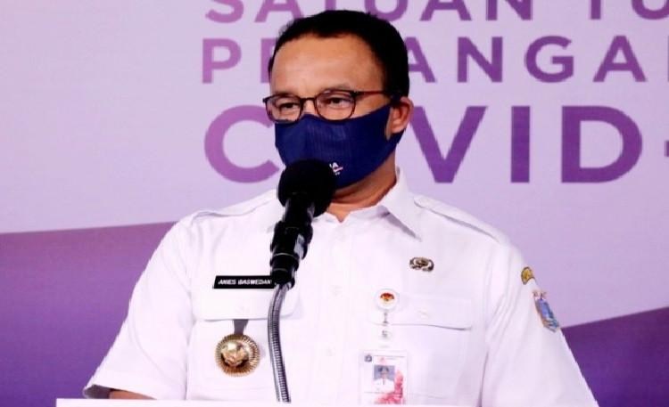 Gubernur DKI Kembali Terapkan PSBB Mulai 8 Januari Sampai 22 Februari 2021