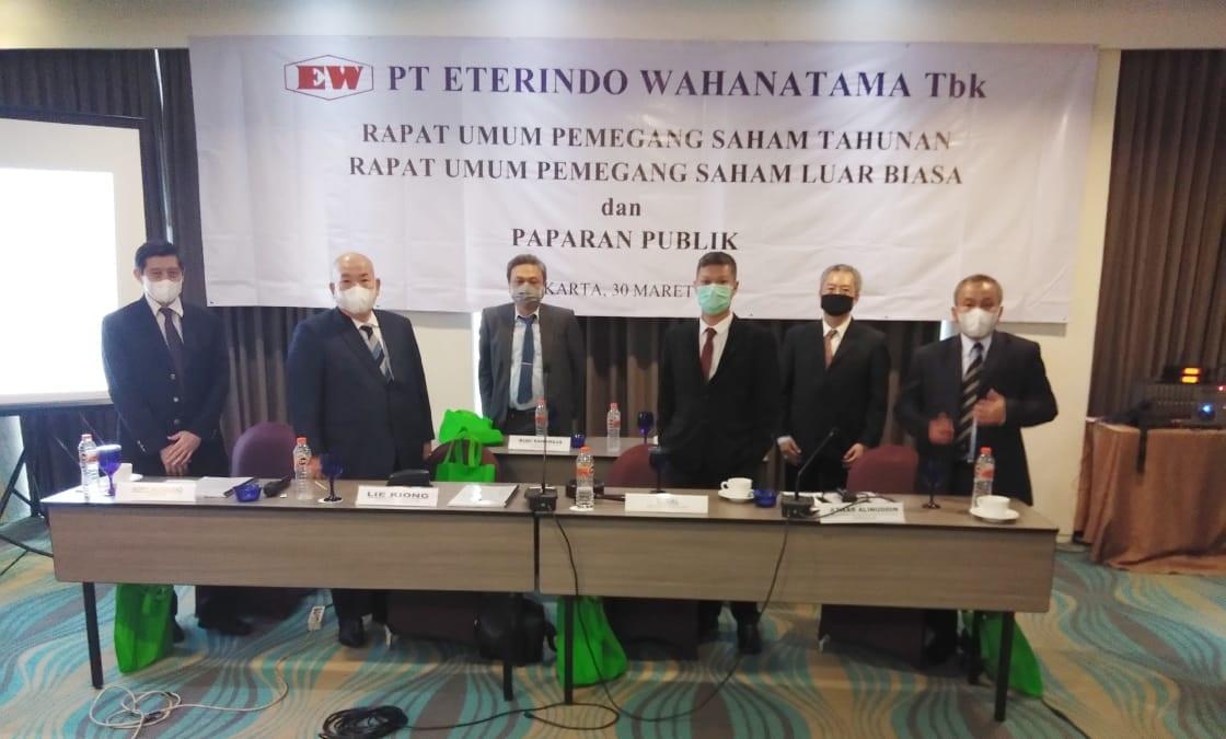 ETWA Perbaiki Kinerja, Eterindo Wahanatama (ETWA) Gandeng Investor Potensial