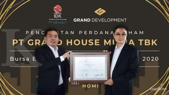 HOMI Bergerak Tak Lazim, BEI Sorot Saham Grand House Mulia (HOMI)