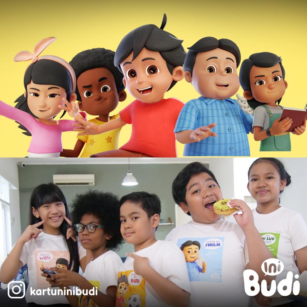 NFCX Anak Usaha NFC Indonesia (NFCX), Lebarkan Sayap ke Animasi Melalui Serial 'Ini Budi'