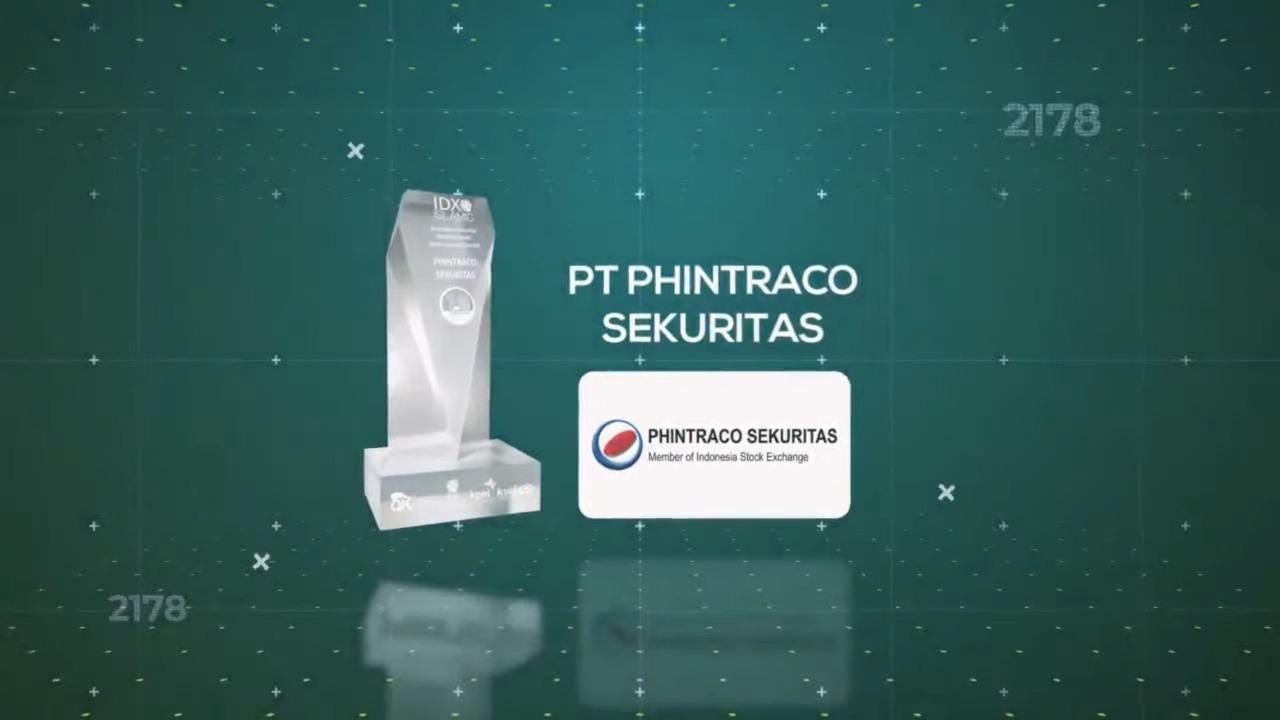 Keren, Phintraco Sabet Award Perusahaan Sekuritas Pertama Pendiri Galeri Investasi Syariah