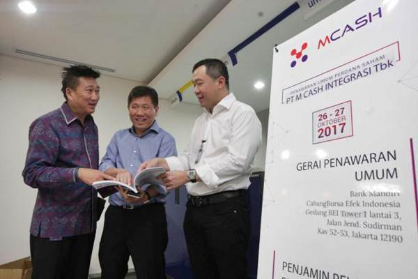 MCAS Lego Saham M Cash (MCAS), Nusantara Teknologi Raup Duit Rp10 Miliar