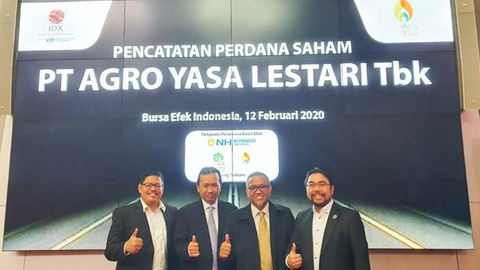 AYLS Mencurigakan, BEI Pelototi Tingkah Polah Saham Agro Yasa Lestari (AYLS)