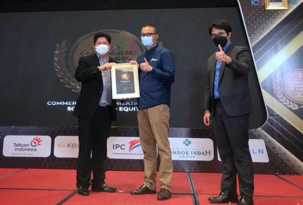 WIKA Wijaya Karya (WIKA) Raih Corporate Branding PR Award 2021