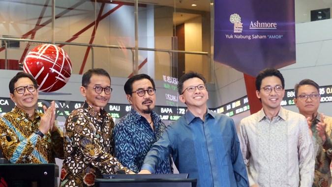 AMOR Pendapatan Naik, Laba Ashmore Asset Management (AMOR) Malah Turun 1,90 Persen