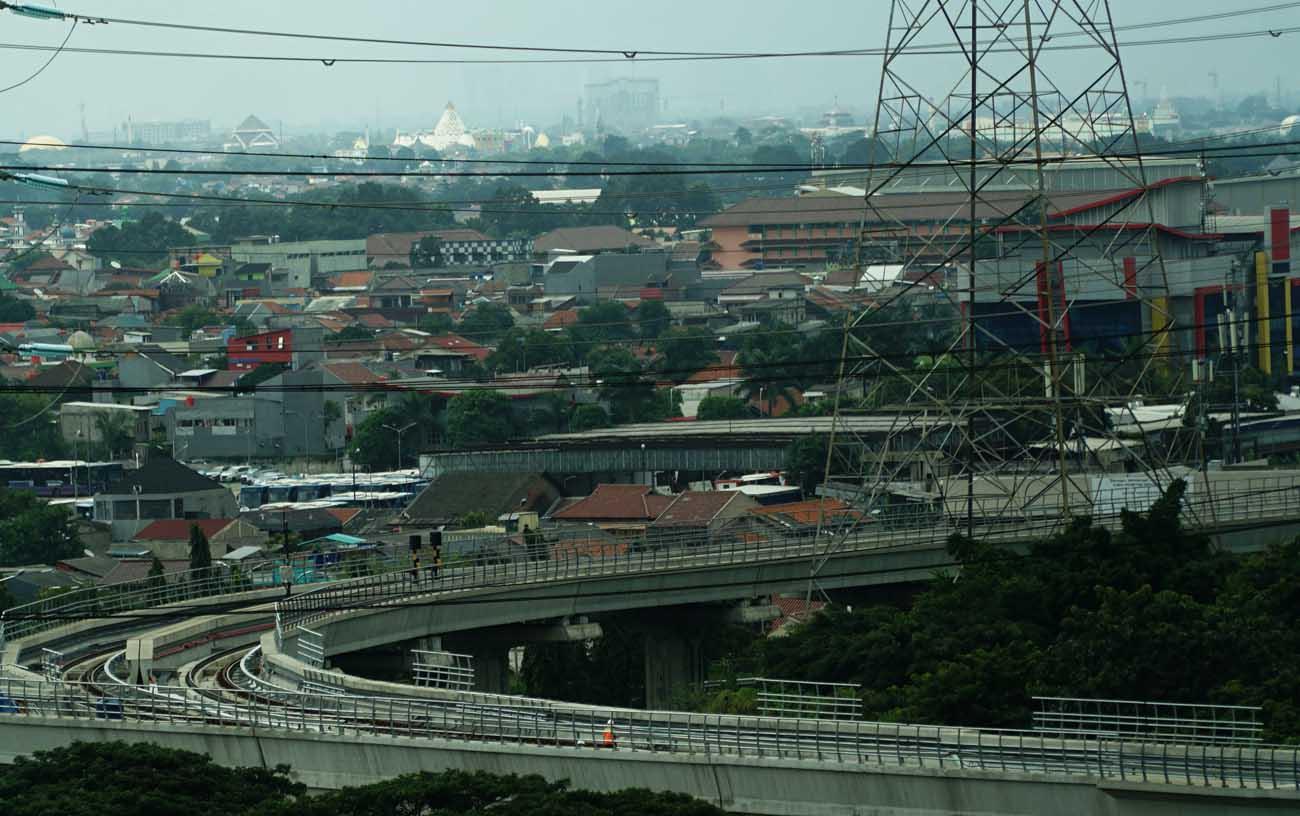 Tahun 2021, Pemerintah Siapkan Anggaran Infrastruktur Rp 417,8 Triliun.