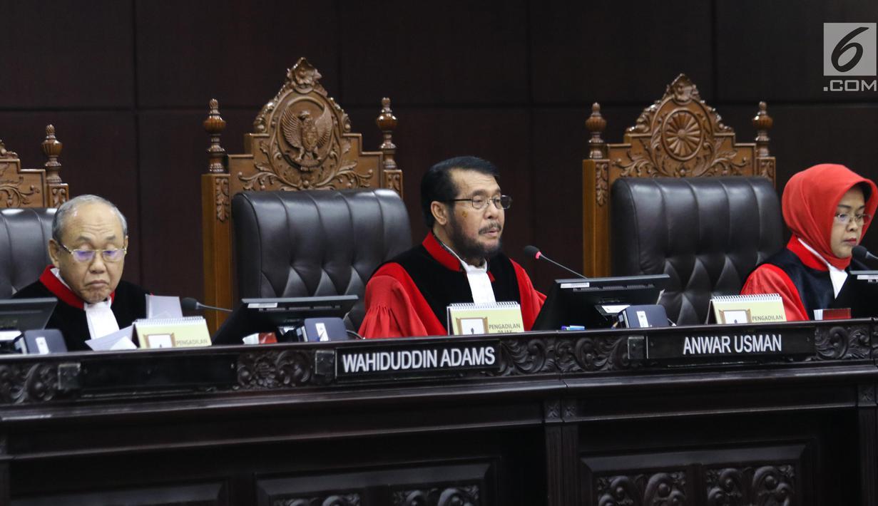 Putusan Uji Materi UU KPK, Dissenting Opinion Hakim Konstitusi Wahiduddin