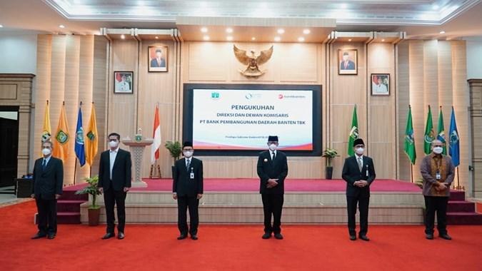 Manajemen Baru,  Bank Pembangunan Daerah Banten (BEKS) Siap  Akselerasikan Transformasi