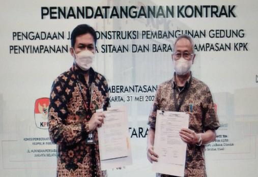 PTDU Djasa Ubersakti (PTDU) Raih Kontrak dari Komisi Pemberantasan Korupsi (KPK) Rp59.9 Miliar