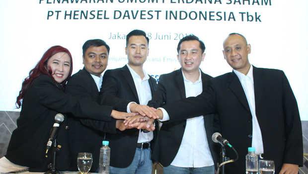 HDIT Bergerak Liar, BEI Buntuti Saham Hensel Davest Indonesia (HDIT)