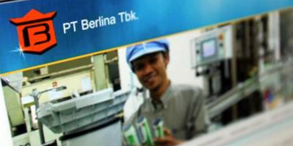 BRNA Utang Naik, Kuartal I-2021 Berlina (BRNA) Catat Rugi Rp52,59 Miliar