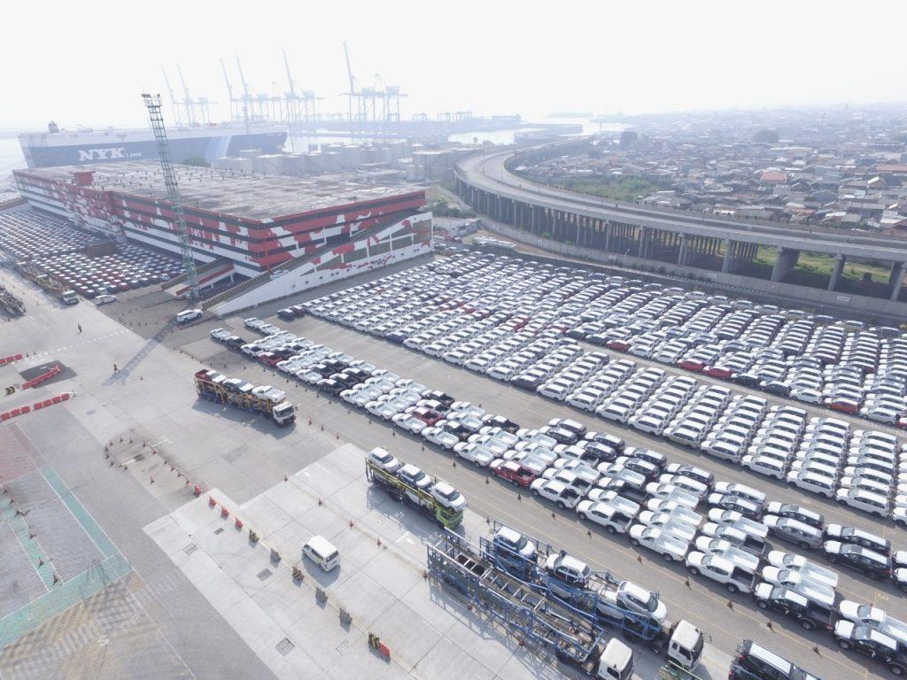 IPCC Meroket 194,25 Persen, Indonesia Kendaraan Terminal (IPCC) Tangani Ekspor 19.688 Unit CBU