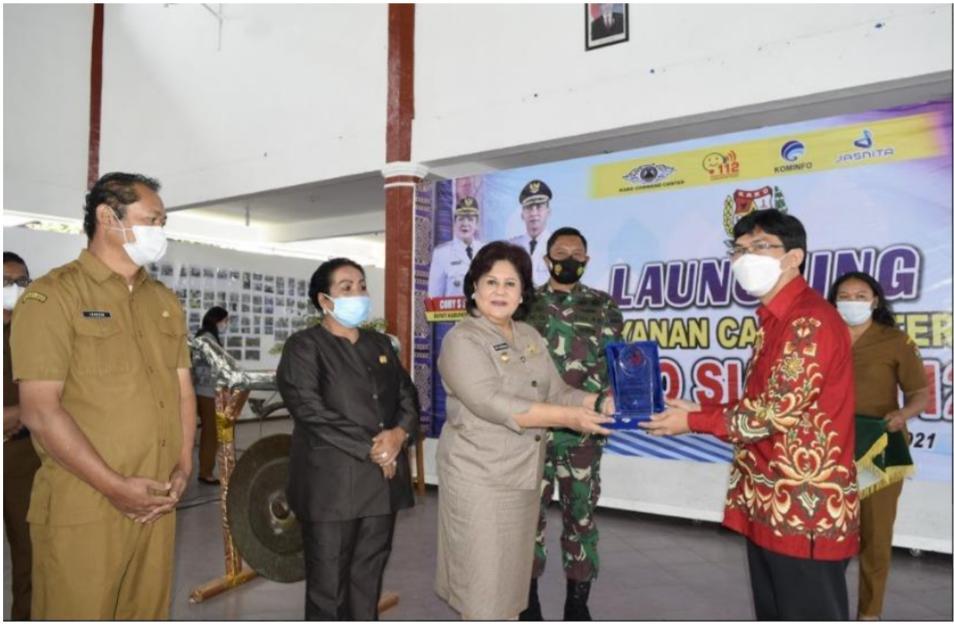 JAST Peduli Masyarakat, Jasnita Telekomindo (JAST) Turut Serta Dalam Launching Karo Siaga 112