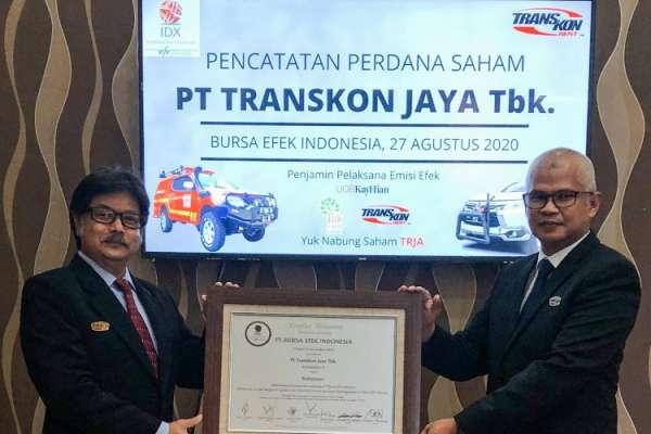 TRJA Kuartal I-2020, Transkon Jaya Tbk (TRJA) Tergerus 48 Persen