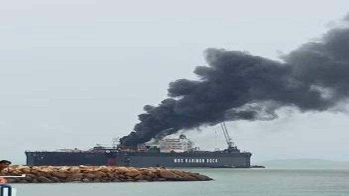 SOCI Kapal Pertamina Terbakar di Galangan PT MOS Milik Soechi Lines (SOCI), Ini Kronologinya