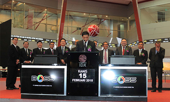 BOSS Realisasi Investasi, Sapphire Mulia Abadi Jual 7,95 Juta Saham Borneo Olah Sarana (BOSS)