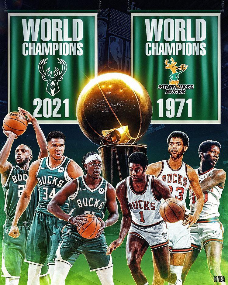 Milwaukee Bucks Sudahi Puasa Gelar NBA 50 Tahun, Giannis Antetokounmpo MVP Finals