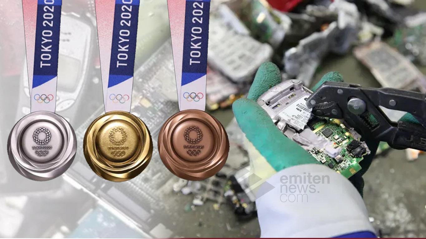 Tokyo 2020, Olimpiade Dengan Medali Dari Rongsokan Elektronik