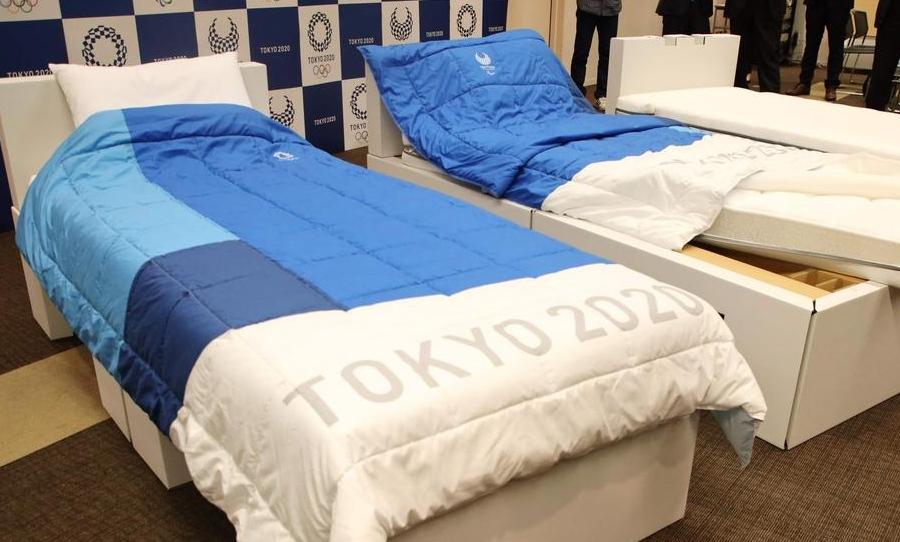 Tau Nggak, Ternyata Atlet Olimpiade Tokyo Tidur di Atas 'Kardus'