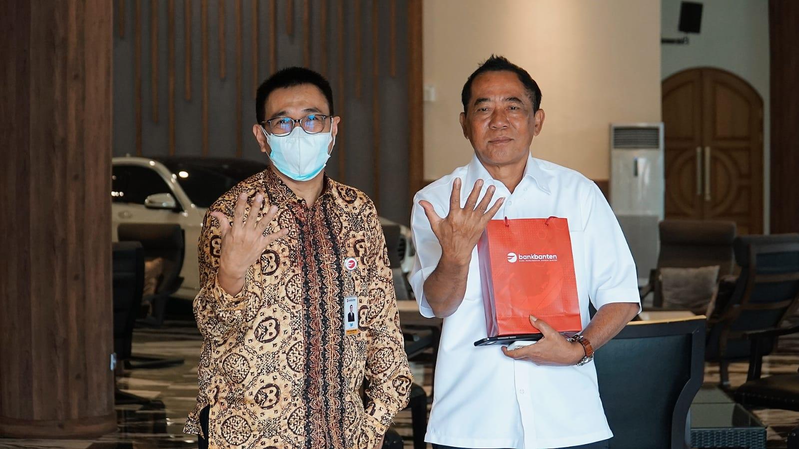BEKS Bakal Garap Potensial Bisnis Kab.Lebak, Bank Banten (BEKS) Temui Ketua Kadin Banten