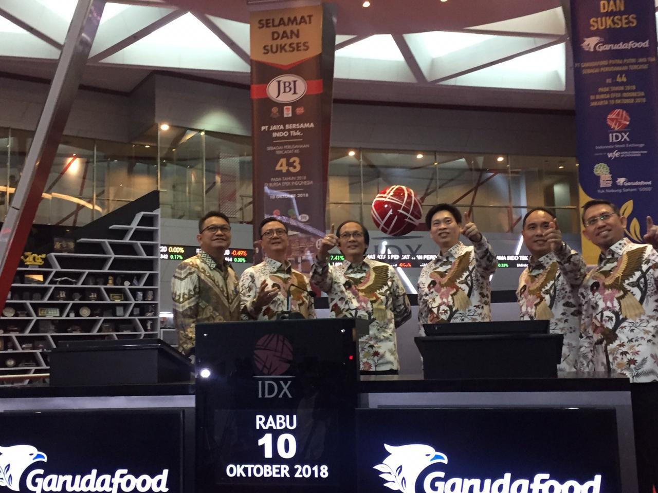 GOOD KEJU Garudafood (GOOD) Borong Saham Mulia Boga (KEJU) Rp162,56 Miliar