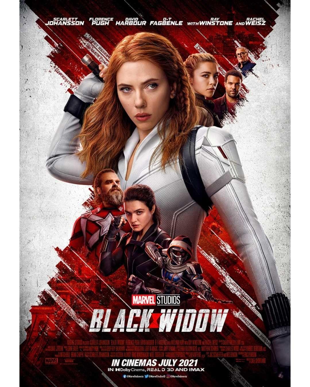 Black Widow Rilis di Disney+, Scarlett Johansson Tuntut Disney