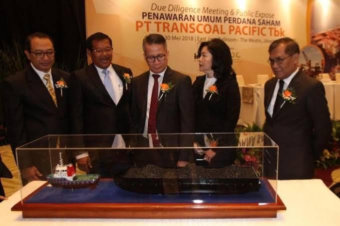 Jaminkan 9 Tug Boat dan 7 Tongkang, Transcoal Pacific (TCPI) Raih Pinjaman Rp100 Miliar