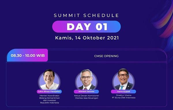 Tingkatkan Investor Pasar Modal, SRO Gelar Capital Market Summit & Expo