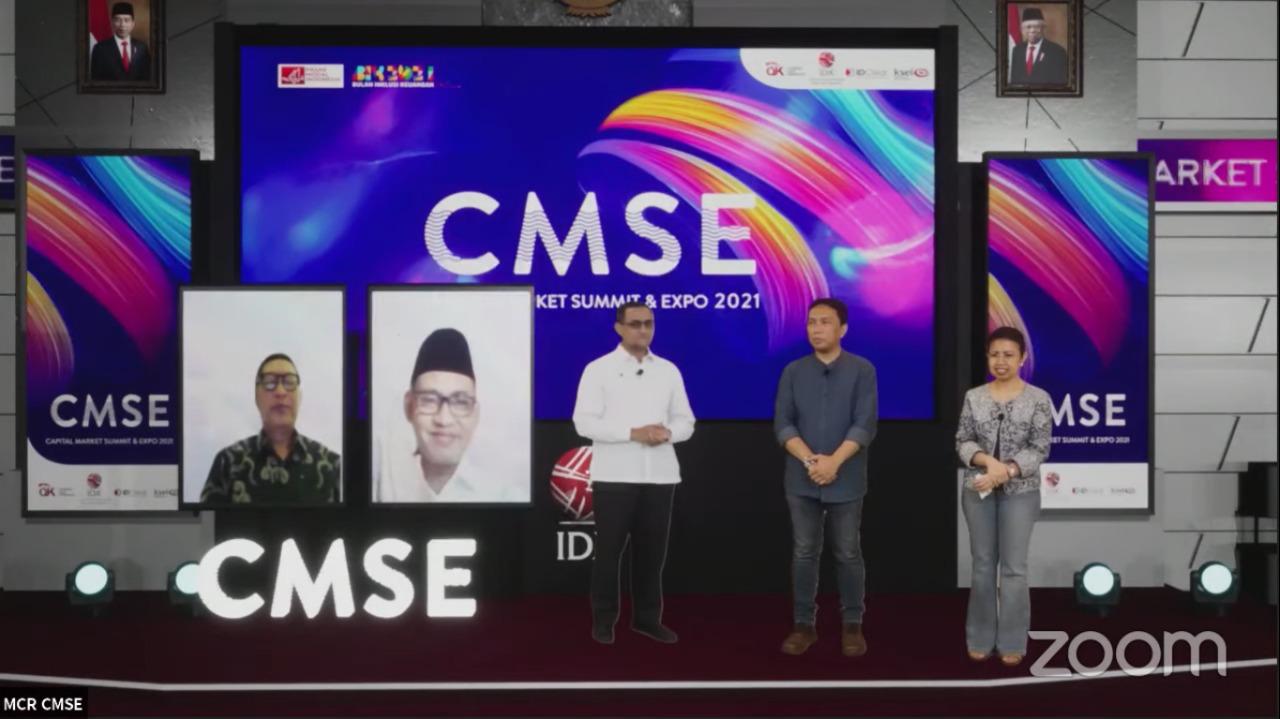 CMSE 2021 Ditutup, Tiga Juta Investor Saham Terlampaui