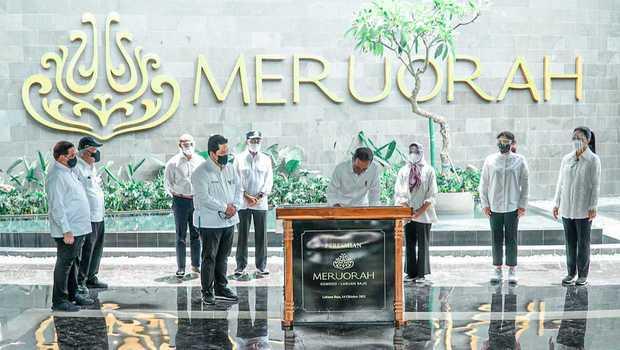 Diresmikan Presiden, PTPP Harap Hotel Meruorah Jadi Magnet Bagi Wisatawan ke Labuan Bajo