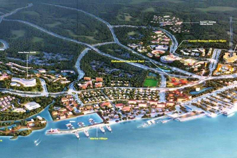 Simpul Ekonomi Lampung, Bakauheni Harbour City Sedot Investasi Rp1 Triliun