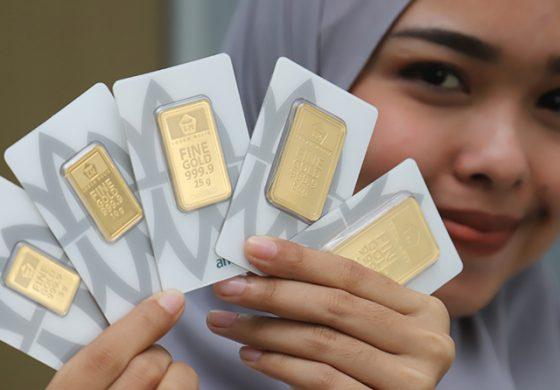 Harga Emas Antam Hari Ini Naik Rp1.000 Per Gram