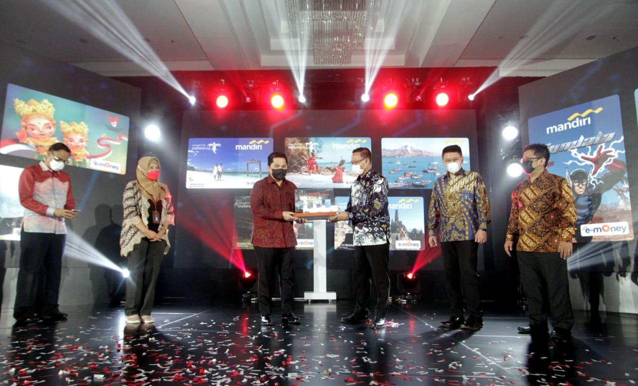 Mandiri e-money edisi Bangga Buatan Indonesia