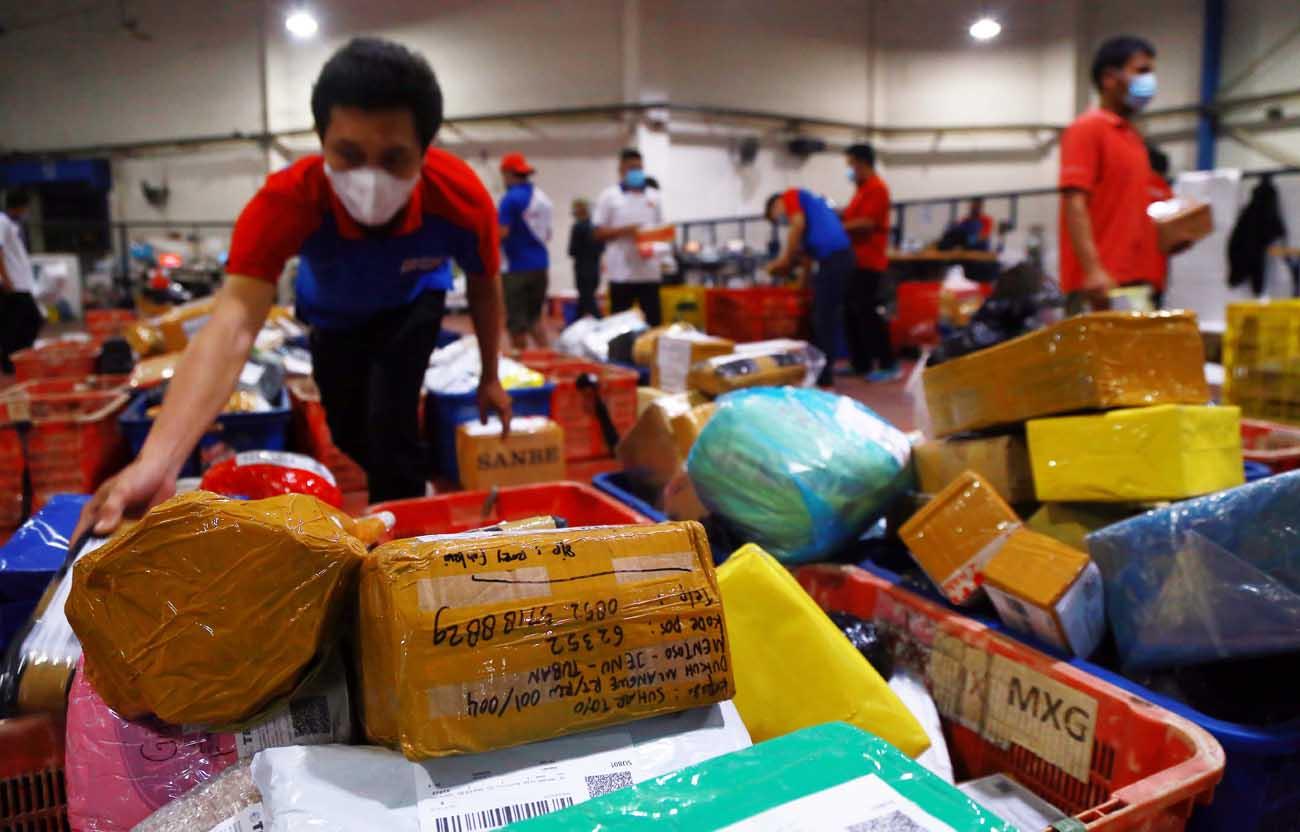 Pengiriman Logistik Meningkat Menjelang Lebaran
