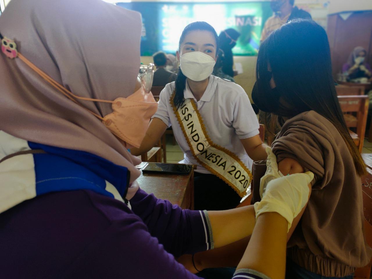 Dihadiri Miss Indonesia, Warga Sambut Antusias Sentra Vaksinasi MNC Peduli di Bogor