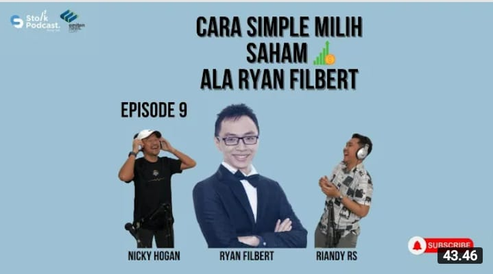 Ep. 9: CARA SIMPLE MILIH SAHAM ALA RYAN FILBERT - Stolk Podcast (Eps 9)
