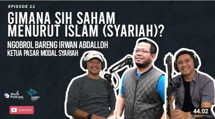 Ep. 11: GIMANA SIH SAHAM MENURUT ISLAM (SYARIAH)?